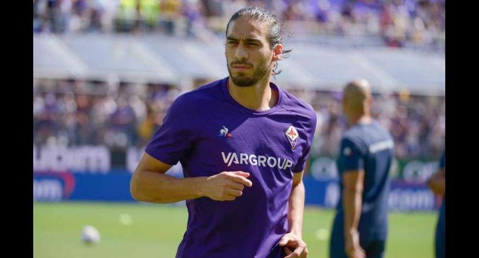 Martín Cáceres (Barcelona) juega actualmente en Fiorentina.  (Foto: AFP)