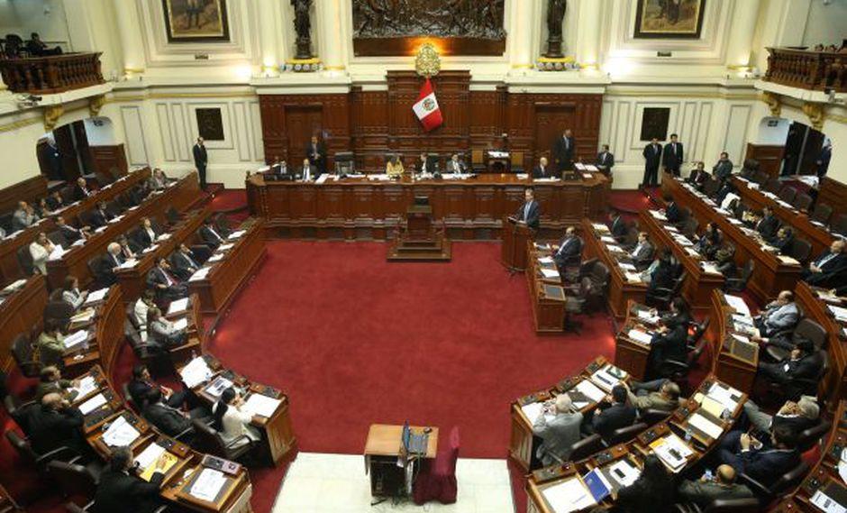 Congreso de la República. (Foto: Andina)