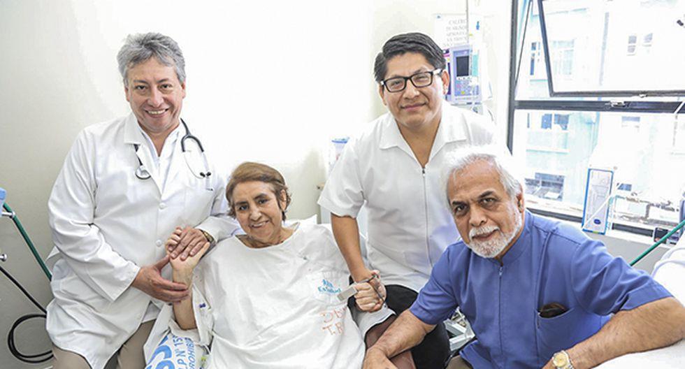 Genoveva Calero después de dos años con fibrosis pulmonar logró obtener un trasplante para su pulmón derecho.
