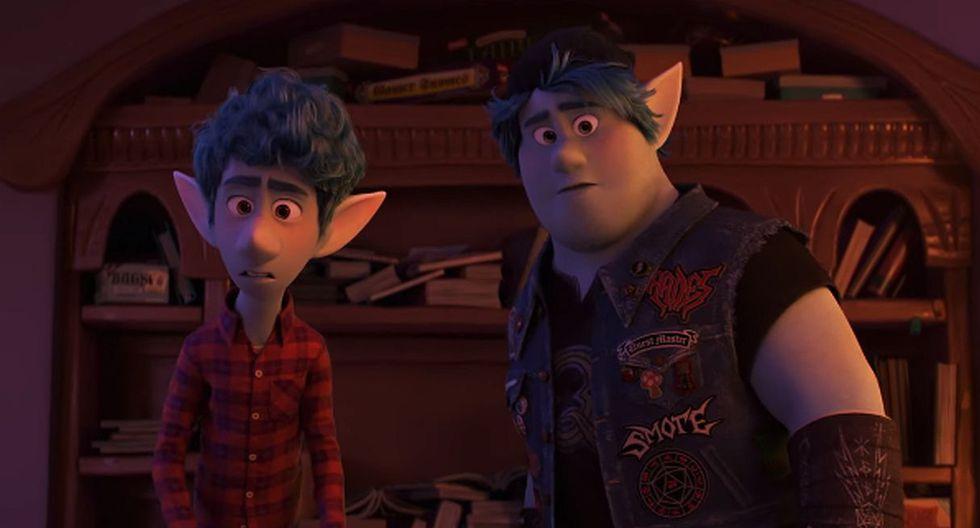 """""""Onward"""": Disney estrenó el tráiler de su nueva película animada. (Foto: Captura de YouTube)"""