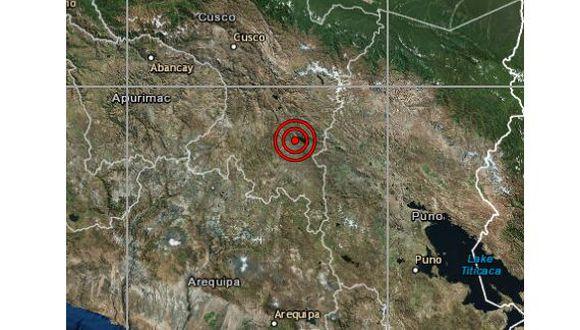 De acuerdo con el IGP, el epicentro de este movimiento telúrico se ubicó a 7 km al suroeste de Langui, en la provincia de Canas. (Foto: IGP)