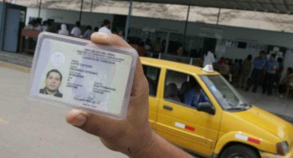 MTC publica las escuelas de conductores, centros de evaluación y centros médicos a nivel nacional. (Foto: Andina)