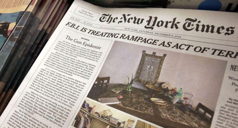 Los comisionados del condado Citrus rechazaron una suscripción digital con un costo de 2.700 dólares que buscaba proporcionar acceso gratuito al prestigioso diario de Nueva York. (Foto referencial: AP)