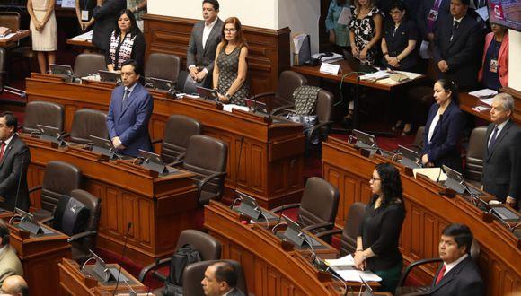 El Congreso debatió autorización de viaje a Chile para el 21 de marzo. (Foto: Rolly Reyna / GEC)
