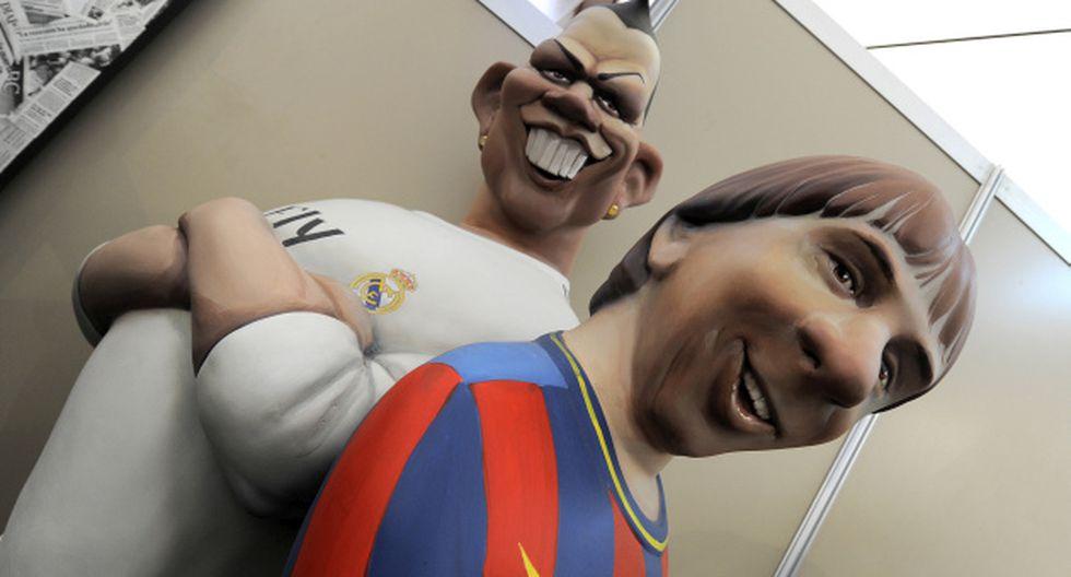 Ambos son ídolos en España y hasta les hacen muñecos a tamaño real. (Foto: AFP)