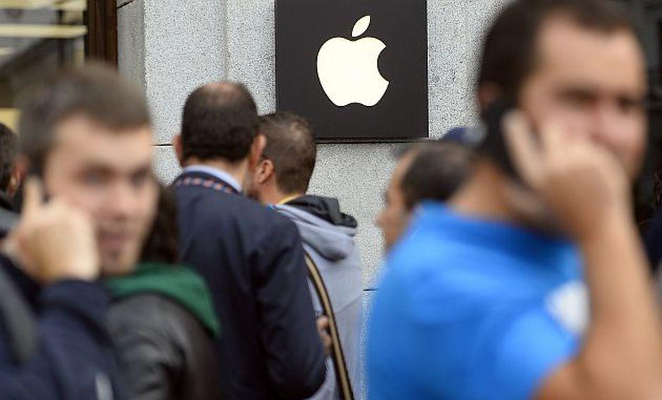 Novedades con los nuevos gadgets de la manzana mordida (Foto: AFP)