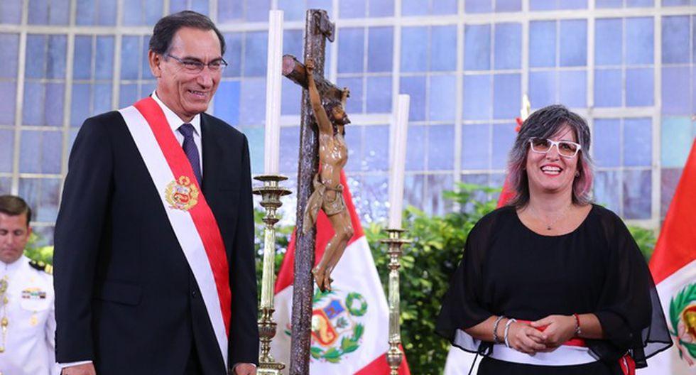 Ulla Holmquist Pachas, ministra de Cultura. Renunció el 8 de julio de 2019. (Foto: Presidencia Perú)