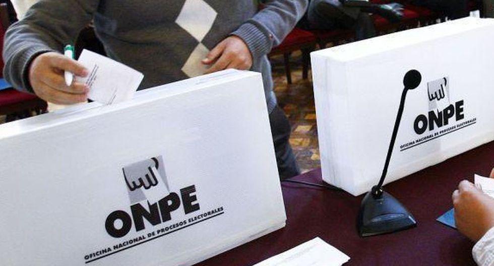 Las elecciones parlamentarias se celebrarán el 26 de enero del 2020, tras la disolución constitucional del Congreso. (Foto: GEC)