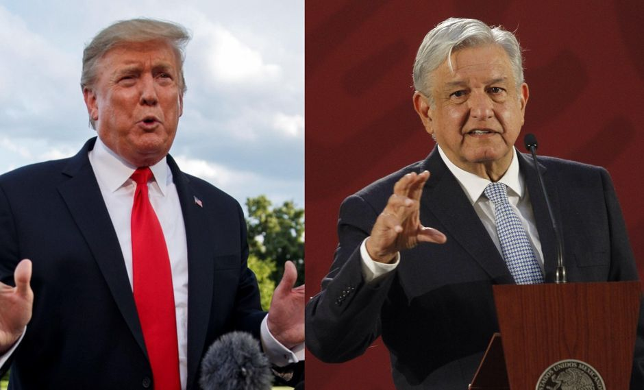 Trump a AMLO: 'Debe recuperar al país de los carteles de narcos'