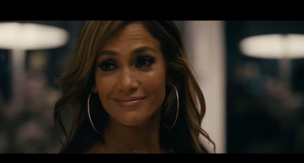 """Jennifer López presentó el primer tráiler de """"Hustlers"""", la película que protagoniza junto a Cardi B. (Foto: Captura de video)"""