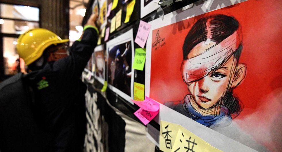"""Las autoridades chinas endurecieron en los últimos días su posición asimilando las protestas con el """"terrorismo"""" y asegurando que no se quedarán """"de brazos cruzados"""".(Foto: AFP)"""