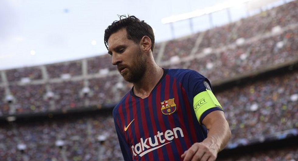 Lionel Messi fue suplente e ingresó en el segundo tiempo por Arturo Vidal. (Foto: AFP)