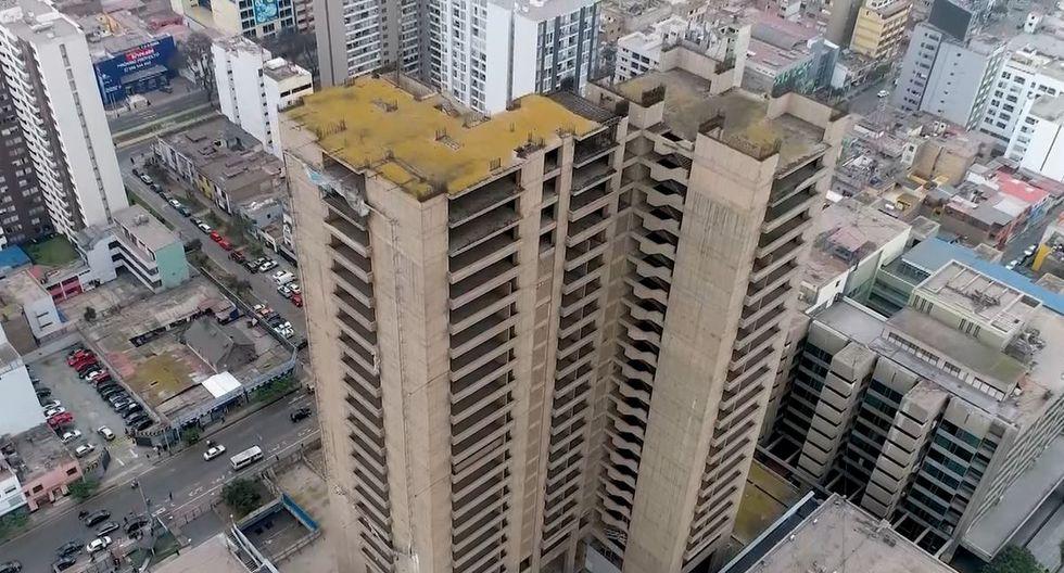 La Torre Bicentenario se ubica en el Complejo Arenales de EsSalud. (Difusión)