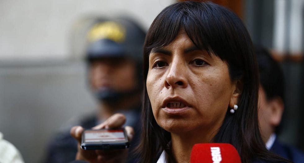 Giulliana Loza descartó que vaya a solicitar la postergación de la audiencia de prisión preventiva contra Keiko Fujimori. (Foto: GEC)