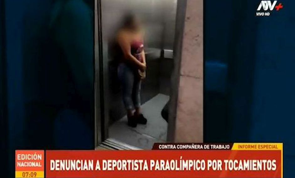 Agente de seguridad denunció al operador de un ascensor del nosocomio por tocamientos indebidos y acoso. (Foto: ATV Noticias)