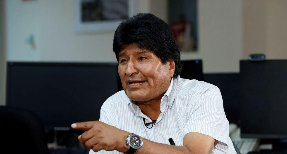 """""""Renuncio y al día siguiente muertos a bala de la policía y de las Fuerzas Armadas. Esa es la dictadura"""", afirmó el expresidente de Bolivia, Evo Morales para BBC Mundo. (Foto: EFE)"""