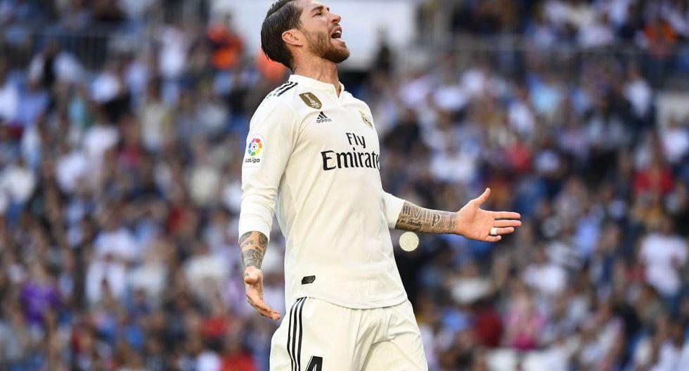 Sergio Ramos / España / Real Madrid (España). (Foto: AFP)