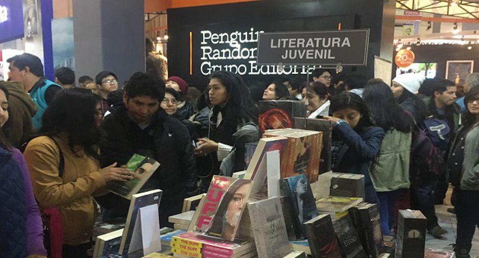 Feria Internacional del Libro de Lima estará hasta el 20 de agosto (Foto: USI)
