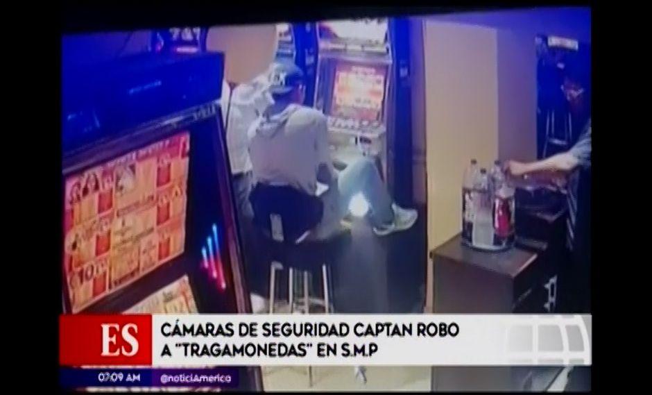 Esta no es la primera vez que el citado local es víctima de la delincuencia. (Foto: Captura de video / América Noticias)