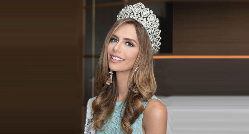 Ángela Ponce hace oídos sordos a las críticas y continúa con su preparación para participar en en Miss Universo 2018. (Foto: @angelaponceofficial)