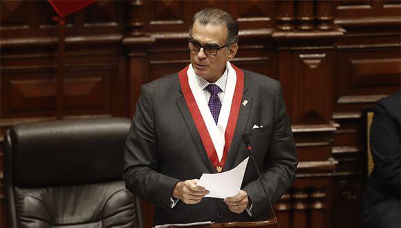 Pedro Olaechea será el nuevo presidente del Congreso para el periodo legislativo 2019-2020. (Foto: César Campos / GEC)