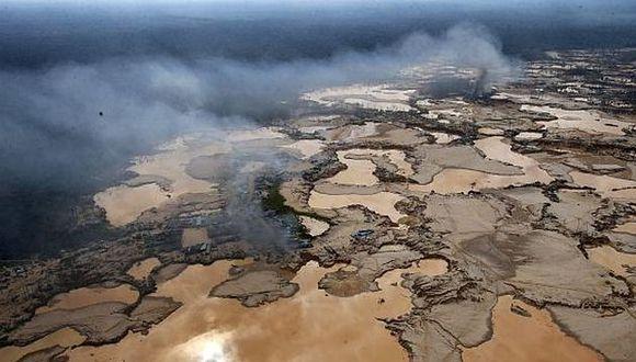 La minería ilegal es uno de los mayores agentes contaminantes en la región de Madre de Dios. (Foto: USI)