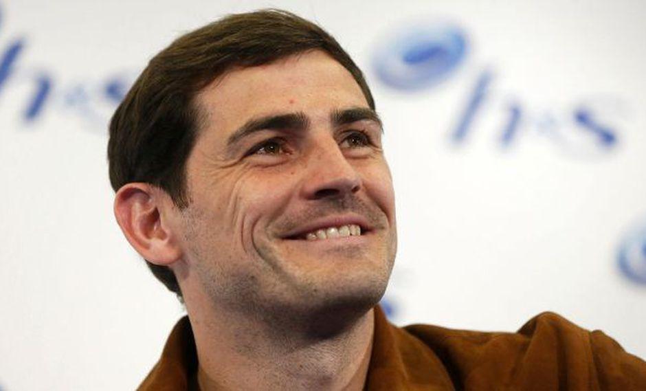 Iker Casillas aclara que todavía no ha decidido retiro del fútbol
