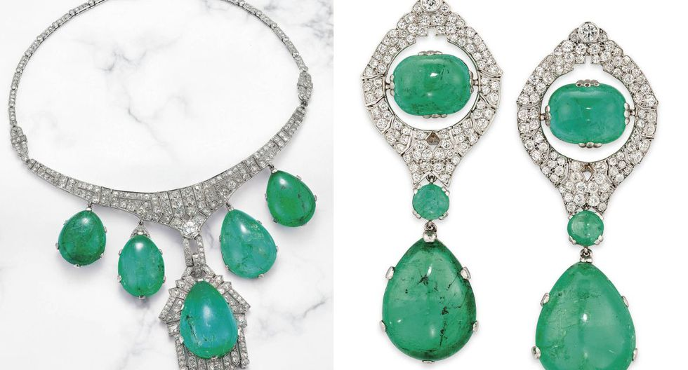 Las valiosas joyas que la familia de Francisco Franco vendió en Londres. (Christie's)