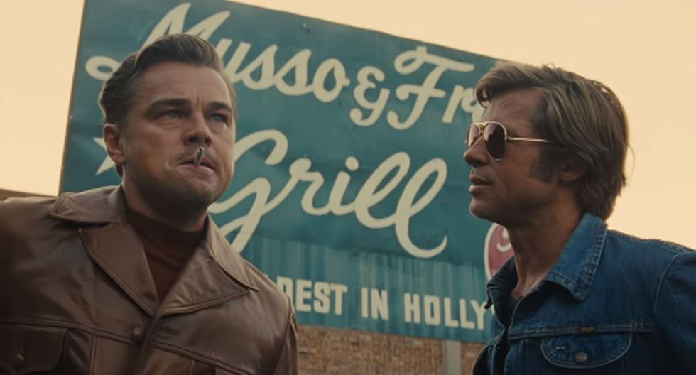 Brad Pitt y Leonardo DiCaprio protagonizan 'Once Upon a Time in Hollywood'. (Foto: Sony Pictures)