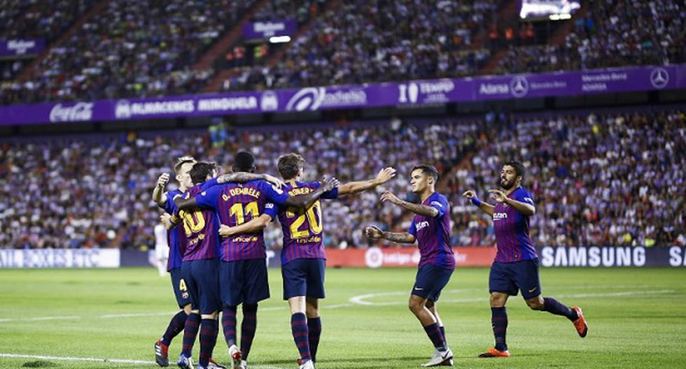 Barcelona chocará con Huesca por la fecha 3 de la Liga Santander 2018-19 (Foto: AFP)