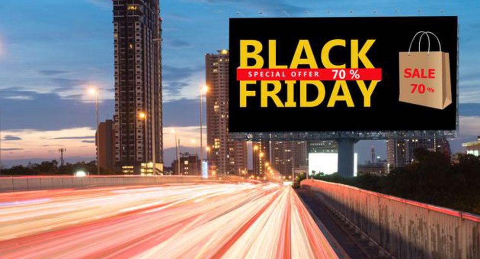 Black Friday (Foto referencial: Shutterstock)