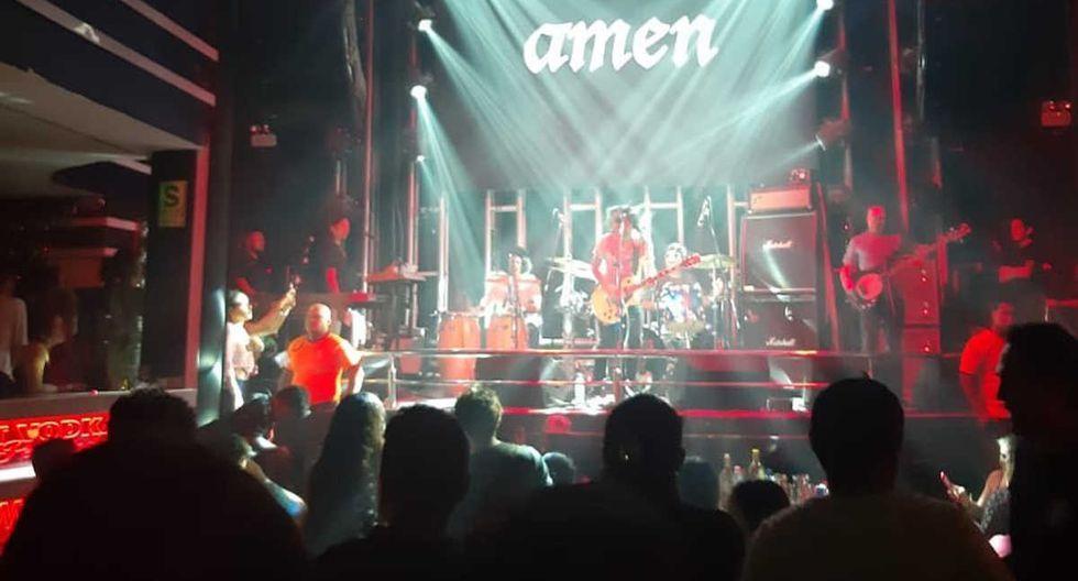Amen se presentará en concierto a beneficio de la salud de Mile Lengua. (Foto Facebook)