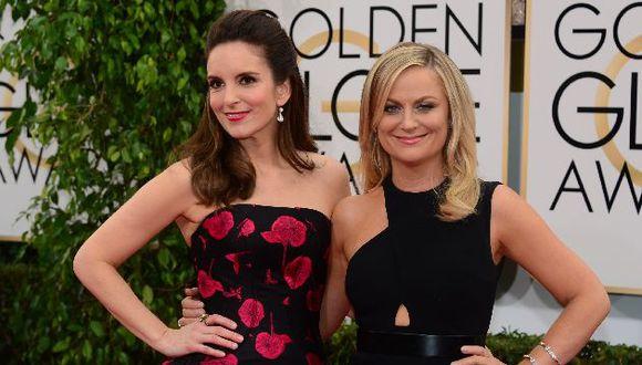 Las comediantes Tina Fey y Amy Poehler serán las maestras de ceremonias. (Foto: AFP)