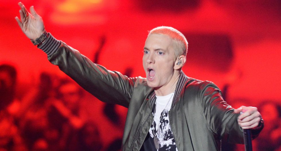 "Eminem presentó su polémico álbum ""Music to be Murdered By"". (Foto: AFP)"
