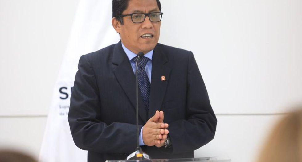"""Zeballos recordó que el presidente Vizcarra aseveró que Toledo estaría a disposición de la justicia peruana antes de que termine su Gobierno y el Ejecutivo planea """"cumplir con ese compromiso"""". (Foto: GEC)"""