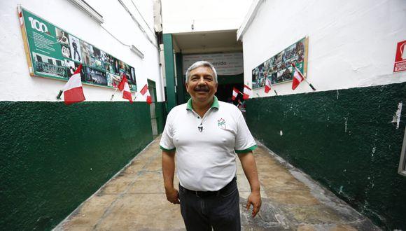 """Alberto Beingolea señaló que han sido """"absolutamente cuidadosos"""" con la selección de sus candidatos al Legislativo. (Foto: Hugo Curotto / GEC)"""