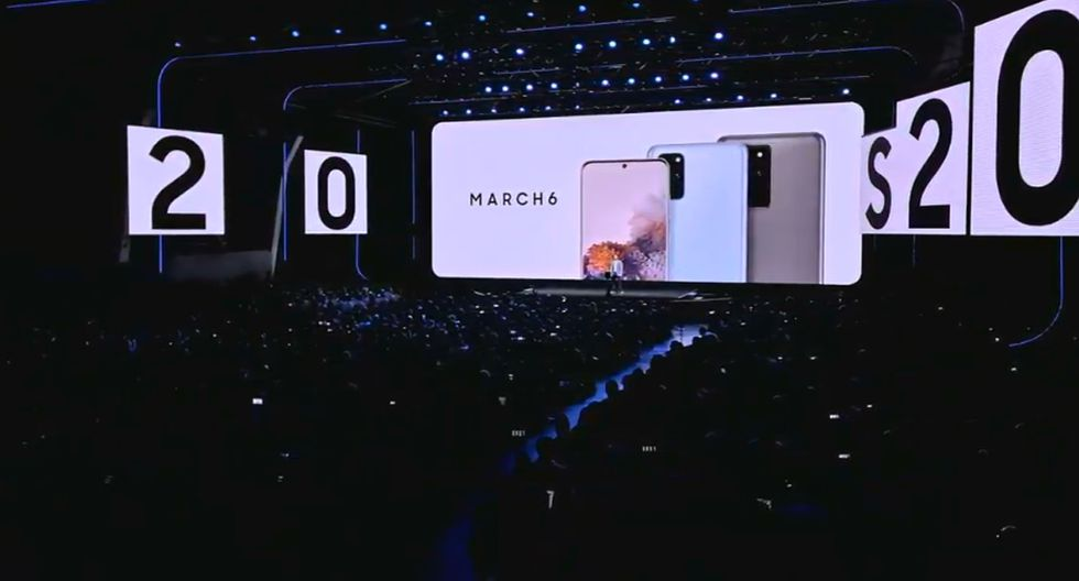 El evento 'Galaxy Unpacked 2020' de Samsung se desarrolló en San Francisco. (Foto: Samsung)