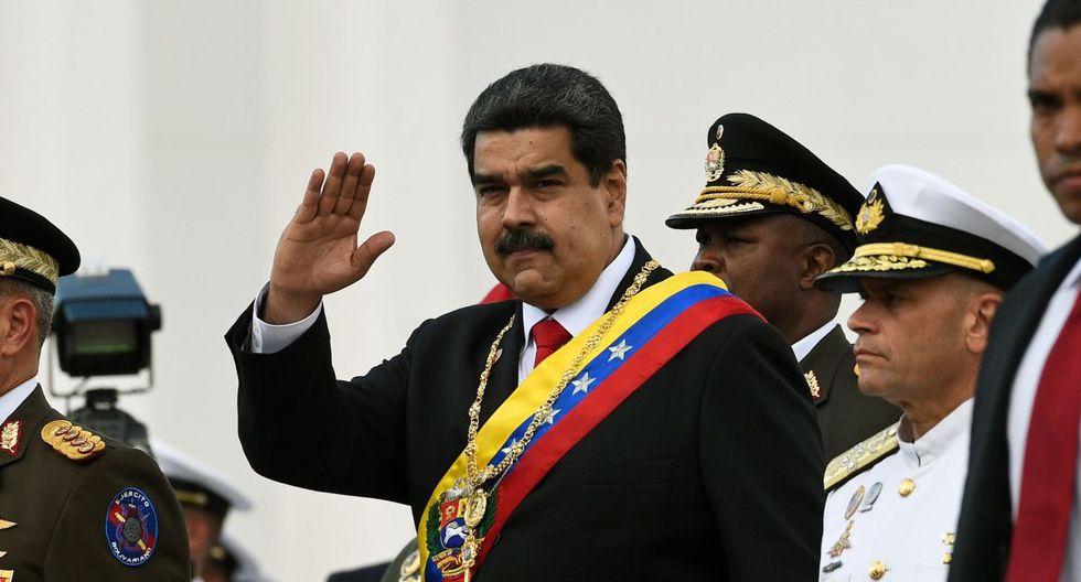 Venezuela   Nicolás Maduro anuncia ejercicios militares para la primera quincena de febrero. (AFP)
