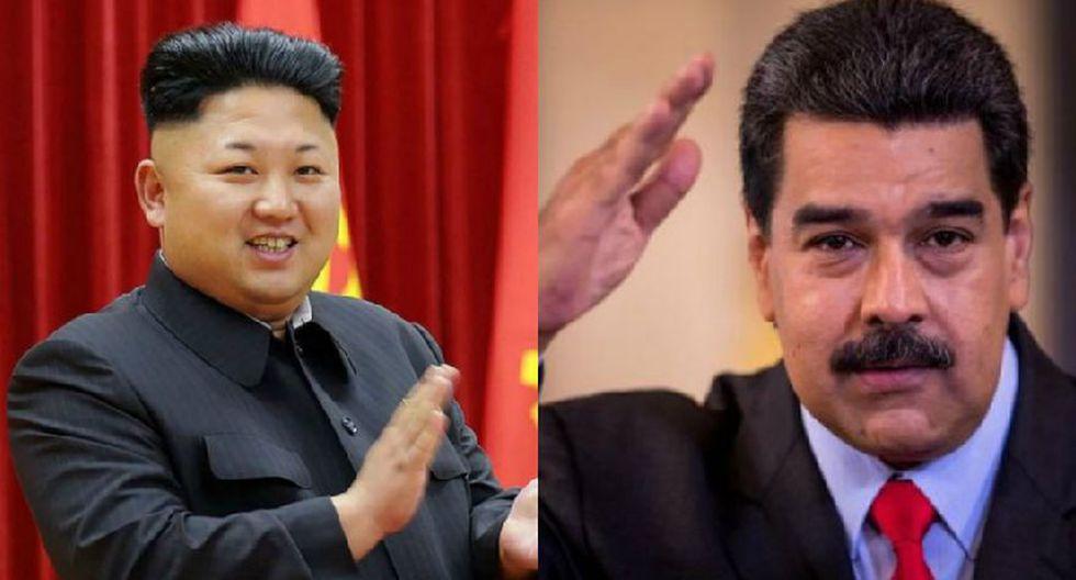 """Corea del Norte apoya a Nicolás Maduro y denuncia """"tentativa de golpe de Estado"""" en Venezuela. (EFE)"""