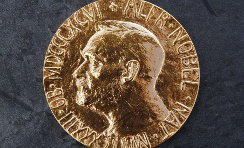 Medalla de los premios Nobel (Foto: AFP)