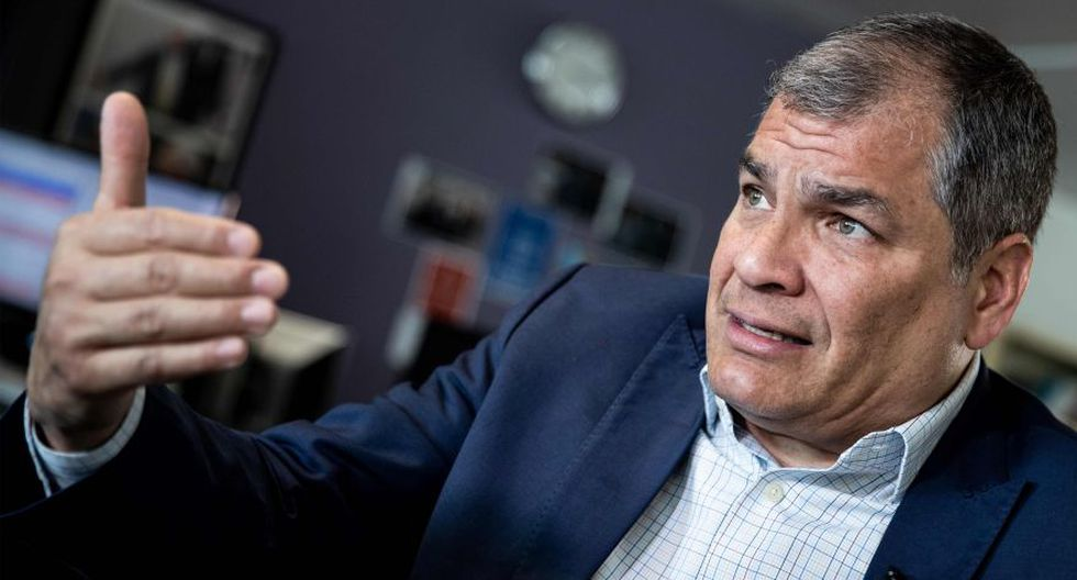Rafael Correa: 'Julian Assange, fundador de Wikileaks, será extraditado a Estados Unidos y su vida será muy complicada'. (AFP)