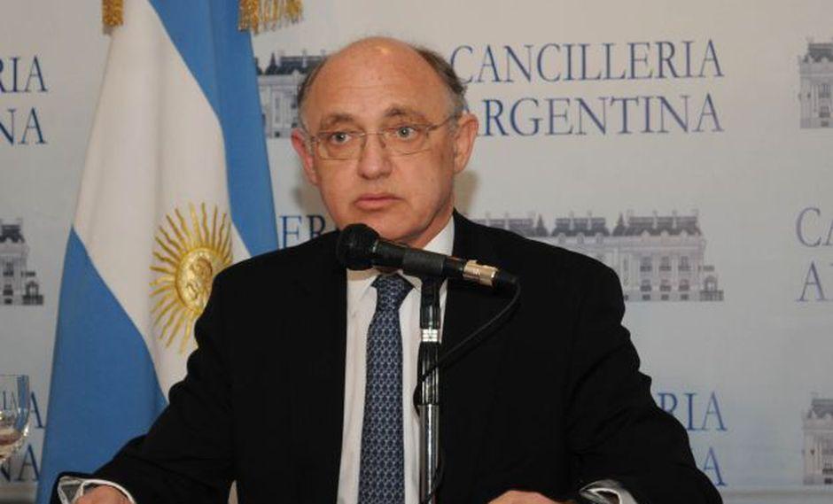Canciller argentino Héctor Timerman. (Foto: AFP)
