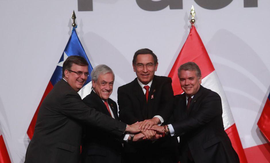 Alianza del Pacífico: Perú, Chile, Colombia y México suscribieron la Declaración de Lima