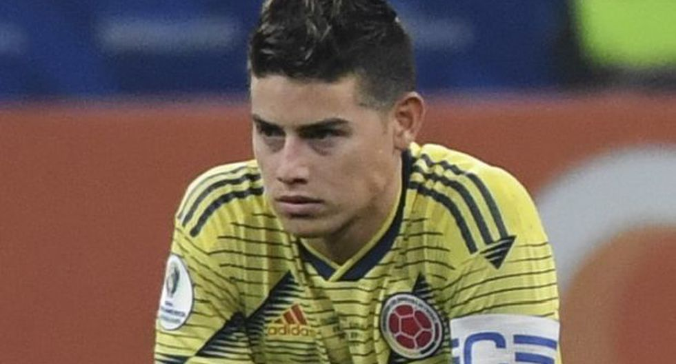 El último juego que disputó James con la selección de Colombia fue el pasado 28 de junio en el estadio Arena Corinthians, donde la representación 'cafetera' cayó por penales ante Chile en los cuartos de final de la Copa América. (Foto: AFP)