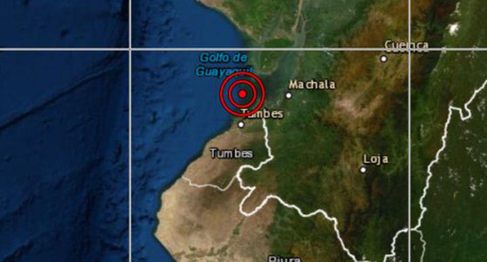 Las autoridades locales del Instituto Nacional de Defensa Civil (Indeci) aún no han reportado daños personales ni materiales a causa del sismo. (Foto: Difusión)