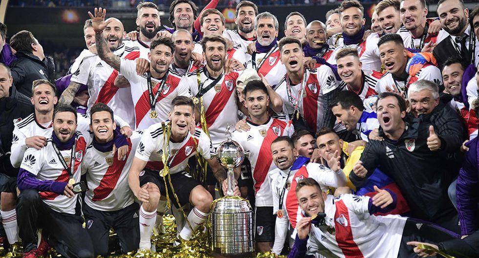 River Plate, en una accidentada final que tuvo que jugarse en el estadio Santiago Bernabéu de Madrid, se proclamó campeón de la Copa Libertadores tras vencer a su archirrival Boca Juniors. (Foto: AFP)