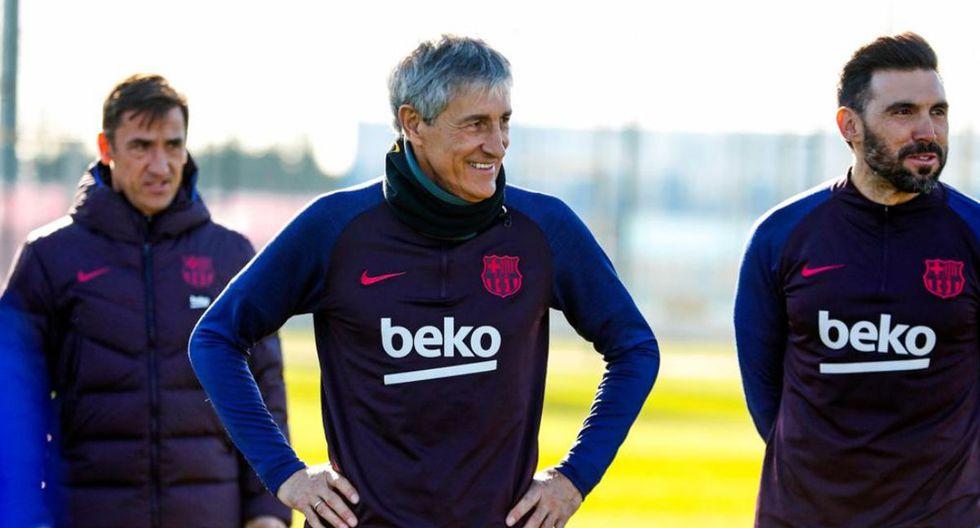 Quique Setién firmó con el FC Barcelona hasta el 2022. (Foto: @FCBarcelona_es)