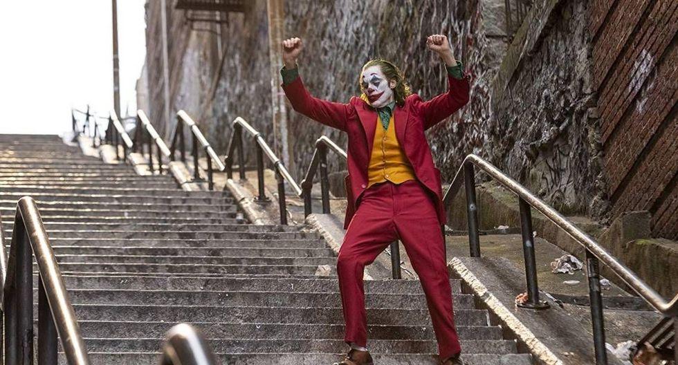 Joker y sus santas escaleras.