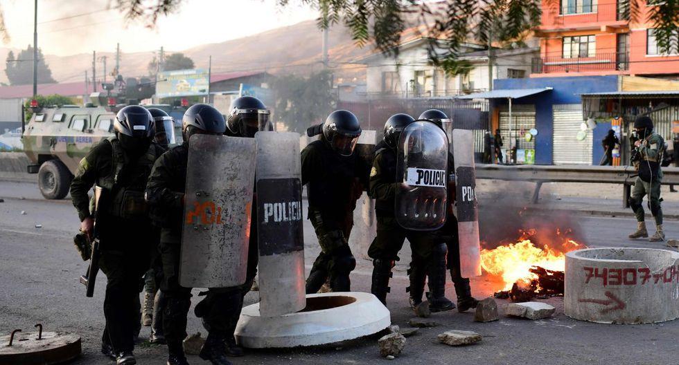 Según la Defensoría del Pueblo de Bolivia, 30 personas han muerto y 775 han resultado heridas desde las elecciones del pasado 20 de octubre. (Foto: AFP)