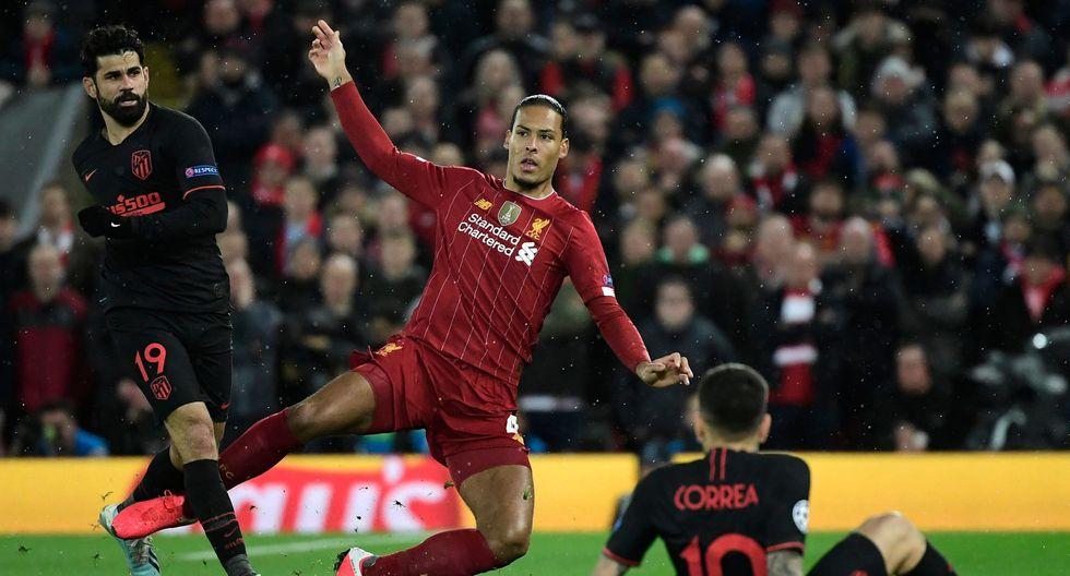Virgil Van Dijk (Liverpool) alcanzó 88.9 puntos (Foto: AFP)